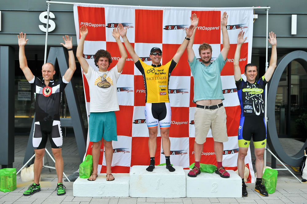 Overall GC Winner Tour of the Valley 2012